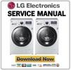 Thumbnail LG F1695RDH Service Manual and Repair Guide