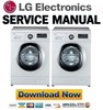 Thumbnail LG F84400WHR Service Manual and Repair Guide