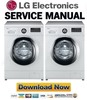 Thumbnail LG F84882WH Service Manual and Repair Guide