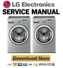 Thumbnail LG WD-12596RD Service Manual and Repair Guide