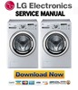 Thumbnail LG WDE13890RD Service Manual and Repair Guide