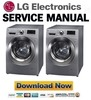 Thumbnail LG WDP1145RD Service Manual and Repair Guide