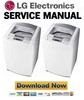 Thumbnail LG WF-T1402TP Service Manual and Repair Guide