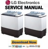 Thumbnail LG WP 1960R Service Manual and Repair Guide