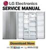 Thumbnail LG GR B207FLC Service Manual and Repair Guide