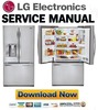 Thumbnail LG GR-B318SS Service Manual and Repair Guide