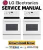 Thumbnail LG LRE6323SW Service Manual & Repair Guide