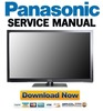 Thumbnail Panasonic TX-L32ETW5 L32ETF52 Service Manual Repair Guide