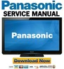 Thumbnail Panasonic TX-P42U30B Service Manual and Repair Guide