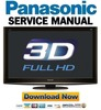 Thumbnail Panasonic TX-P42VT20 P42VT20E Service Manual Repair Guide