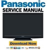 Thumbnail Panasonic TX-P42X20B P42X20E P42X20L Service Manual and Repair Guide