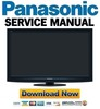 Thumbnail Panasonic TX-P46G20 P46G20E P46G20ES Service Manual and Repair Guide