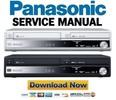 Thumbnail Panasonic DMR-EX98V EX98VEB EX98VEG EX98VEC Service Manual and Repair Guide