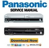 Thumbnail Panasonic DMR-EZ47V EZ47VEB Service Manual and Repair Guide