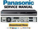 Thumbnail Panasonic DMR-BS780 BS780EB Service Manual and Repair Guide