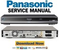 Thumbnail Panasonic DMR-BW880 BW880EB BW880EF Service Manual and Repair Guide
