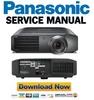 Thumbnail Panasonic PT-AE7000 AE7000U AE7000E AT5000E Service Manual