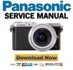 Thumbnail Panasonic Lumix DMC GM1 GM1K GM1W Service Manual