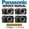 Thumbnail Panasonic Lumix DMC GX7 GX7G GX7E GX7K GX7C Service Manual + Schematics!