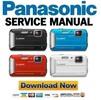 Thumbnail Panasonic Lumix DMC TS25 FT25 Service Guide Repair Manual