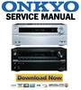 Thumbnail Onkyo TX NR636 Service Manual and Repair Guide