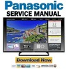 Thumbnail Panasonic TC-55AS530U 55AS540C 55AS530UE Service Manual & Repair Guide