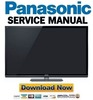 Thumbnail Panasonic TC-P50GT50 Service Manual + Repair Guide
