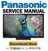 Thumbnail Panasonic TC-P50U50 Service Manual and Repair Guide