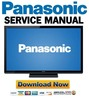 Thumbnail Panasonic TC-P60U50 Service Manual and Repair Guide