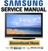 Thumbnail Samsung HP-S4253 HPS4253 Service Manual & Repair Guide