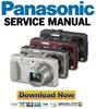 Thumbnail Panasonic Lumix DMC TZ37 TZ40 TZ41 Service Manual + Schematics & Parts List
