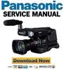 Thumbnail Panasonic HC MDH2 MDH2M Service Manual & Repair Guide