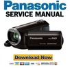 Thumbnail Panasonic HC V130 Service Manual & Repair Guide