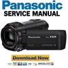 Thumbnail Panasonic HC V750 V757 V750M V730 Service Manual & Repair Guide