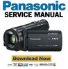 Thumbnail Panasonic HC X920 X929 X920M X910 Service Manual & Repair Guide