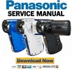 Thumbnail Panasonic HX-WA30 Service Manual & Repair Guide