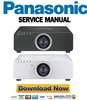 Thumbnail Panasonic PT DZ680 DW640 DX610 Service Manual and Repair Guide