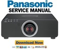 Thumbnail Panasonic PT DZ770 Service Manual and Repair Guide