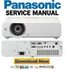 Thumbnail Panasonic PT VX500 Service Manual and Repair Guide