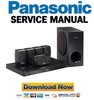 Thumbnail Panasonic SC-BTT270 Service Manual and Repair Guide