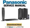 Thumbnail Panasonic SC-BTT362 Service Manual and Repair Guide