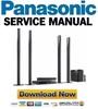 Thumbnail Panasonic SC-BTT755 Service Manual and Repair Guide