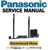 Thumbnail Panasonic SC-BTT770 + BTT775 Service Manual and Repair Guide