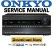 Thumbnail Onkyo PR-SC5507 Service Manual & Repair Guide