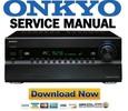 Thumbnail Onkyo PR-SC5508 Service Manual & Repair Guide