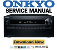 Thumbnail Onkyo PR-SC5509 Service Manual & Repair Guide