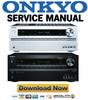 Thumbnail Onkyo TX-NR626 Service Manual & Repair Guide