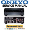 Thumbnail Onkyo HT-RC260 Service Manual and Repair Guide