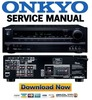 Thumbnail Onkyo HT-RC430 Service Manual and Repair Guide