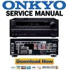 Thumbnail Onkyo HT-RC440 Service Manual and Repair Guide
